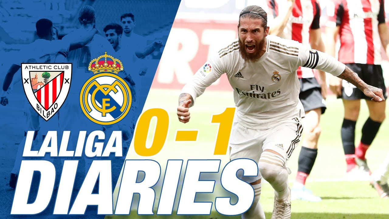 🔥 Athletic 0-1 Real Madrid | Ramos goal gives Zidane's men 7th win in a row!