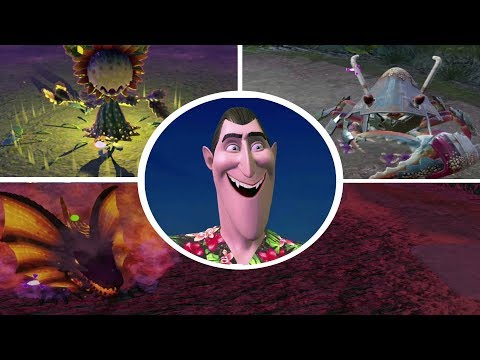 Hotel Transylvania 3 Monsters Overboard - All Bosses