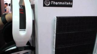 Thermaltake goes white with Level 10 GT and 4 x 120mm Frio GT CPU cooler