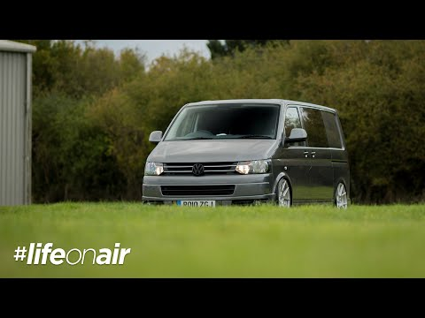 VW T5 on Air Suspension - #LifeOnAir