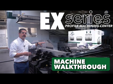 5-Axis Profile Machining Center Made in the USA - The EX-Series By C.R. Onsrud