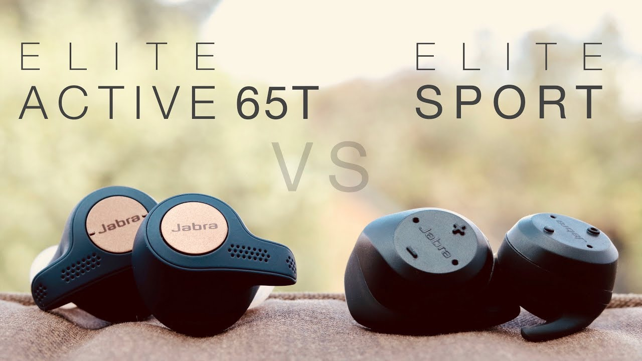 New Jabra Elite Active 65t Vs Elite Sport True Wireless Earphones Comparison Review Youtube