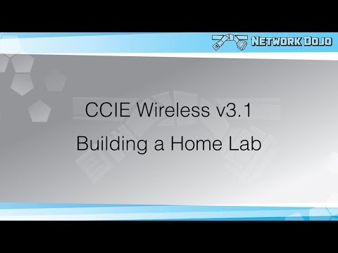 CCIE Wireless v3.1- Building a Home Lab