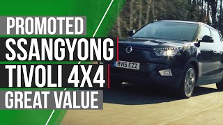 Promoted: Ssangyong Tivoli