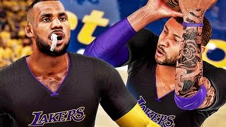 We're IMPERSONATING The Splash Brothers! LeBron & VC Jr Can't Stop Shooting Threes!
