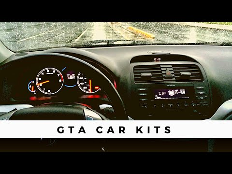 Acura TSX GTA Car Kit Installation For IphoneIpod YouTube - 2005 acura tsx aux input
