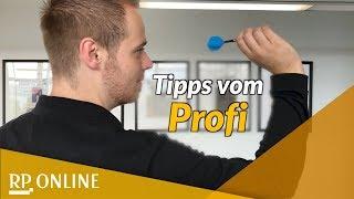 Tipps von Deutschlands bestem Darts-Spieler Max Hopp
