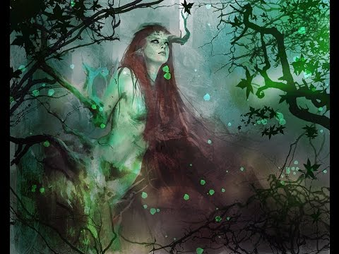 dryads nymphs of the forest improvisation for ancient greek