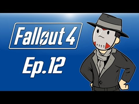 Delirious plays Fallout 4! Ep. 12 (The Silver Shroud!) Killing Super Mutants!