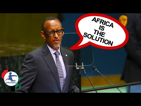 President Kagame Says  Africa is a Source of Solution During General Assembly