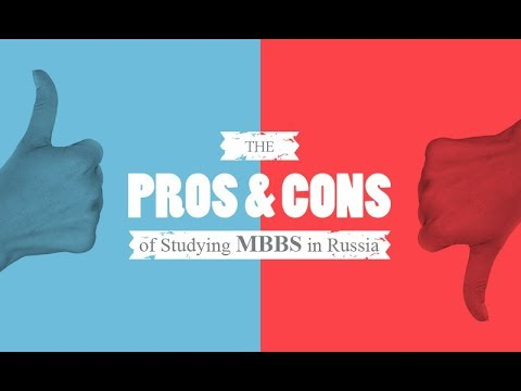 Pros and Cons of Studying MBBS from Russia