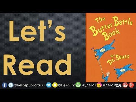 📕Let's Read: The Butter Battle Book By Dr. Seuss