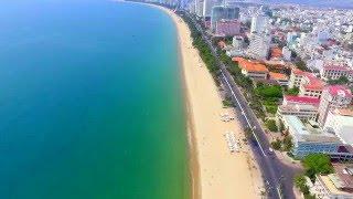 Nha Trang biển xanh, cát trắng, nắng vàng - Du lịch sự kiện (Flycam DJI Phantom 3)