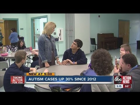CDC report reveals higher numbers of autism