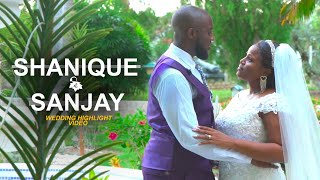 Wedding Highlight Video | Shanique + Sanjay | Sony a7iii