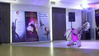 ViktoriaFEO 18 45 Sexy Strip Danza girl BEGINNER -  Танцевальная премия DANZA TV 28 февраля 2016г.