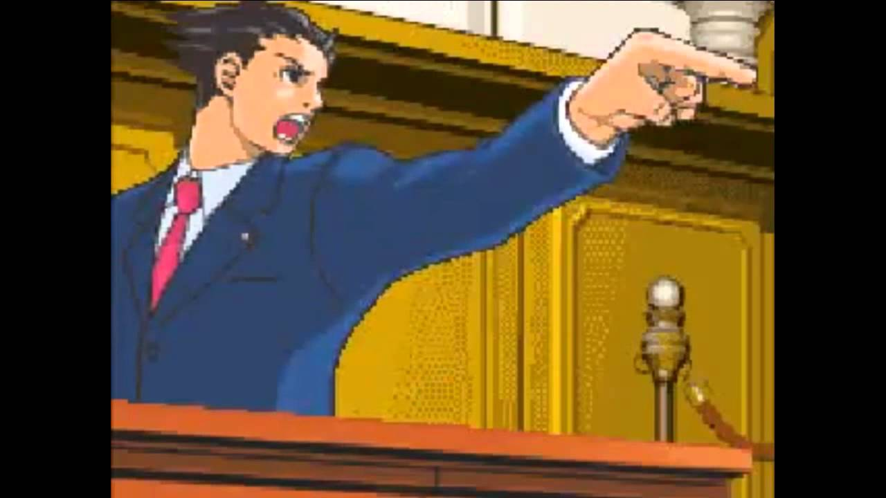 Phoenix Wright Boot To The Head Hd Youtube