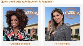 A Fazenda - Bombom X Flávia Viana, surpresas da segunda roça