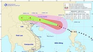 Dự báo thời tiết 16/9: Tin bão trên biển Đông ( cơn bão số 6 Mangkhut)