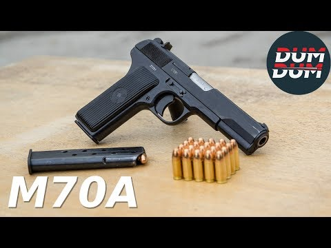 Zastava M70A opis pištolja (gun review)