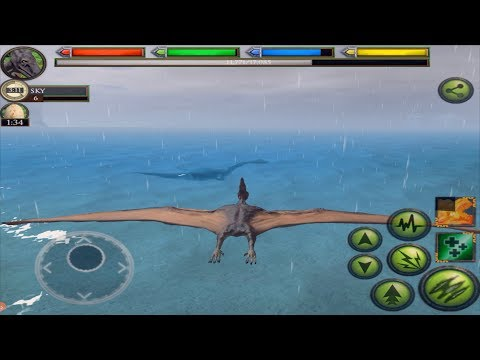 Jurassic Pterodactyl Simulator, Be A Flying Dino, Ultimate Dinosaur Simulator, By Gluten Free Games