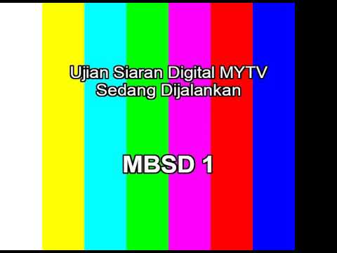 MYTV MUX 2 Test Transmissions (SD channel)