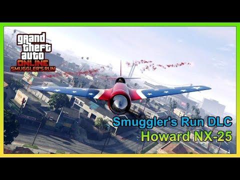 GTA Online - Howard NX-25 [Hughes H-1 Racer] - Fully Upgraded ($1,240,000) - Smuggler's Run DLC