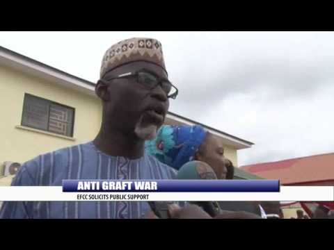 ANTI GRAFT WAR: EFCC SOLICITS PUBLIC SUPPORT