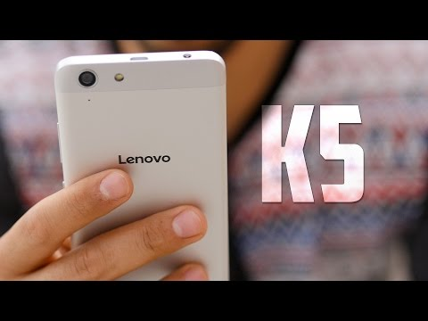 Lenovo K5, review en español