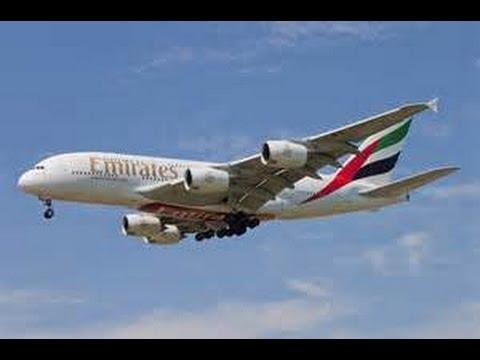 Emirates A380 Landing at Toronto Pearson International Airport [HD]