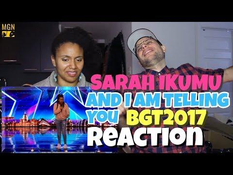 Sarah Ikumu - And I Am Telling You | Britain's Got Talent | REACTION