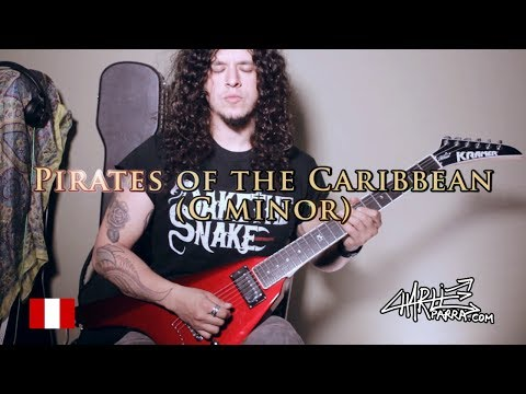 Pirates of the Caribbean 2017 (C minor HEAVY METAL)