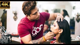 Bridal Makeup By Tarun Jagdev | Nikunj Sharma Photography | 4K Video