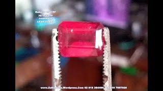 Mengenali Ruby yang di glass filled - Bag 4 dari 5