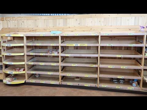 extreme-panic-buying---coronavirus-stores-sold-out---trader-joes-nj