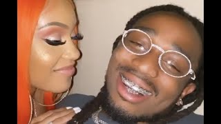 Sweetie Makes Quavo Blush While Sharing Some Tongue! Gets Real Personal In Public