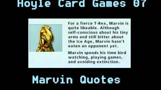 Hoyle Card Games - Marvin Quotes