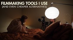 Filmmaking Tools I Use (and even cheaper alternatives)