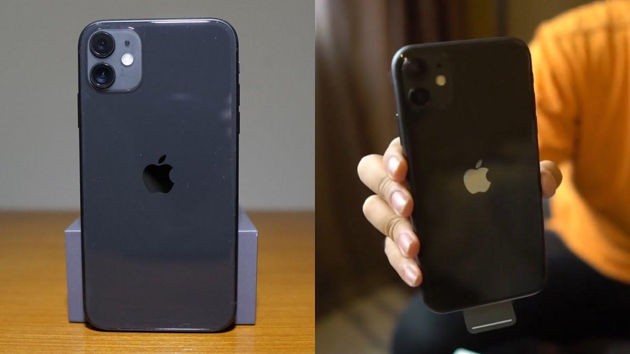 Unboxing Iphone 11 Black Indonesia