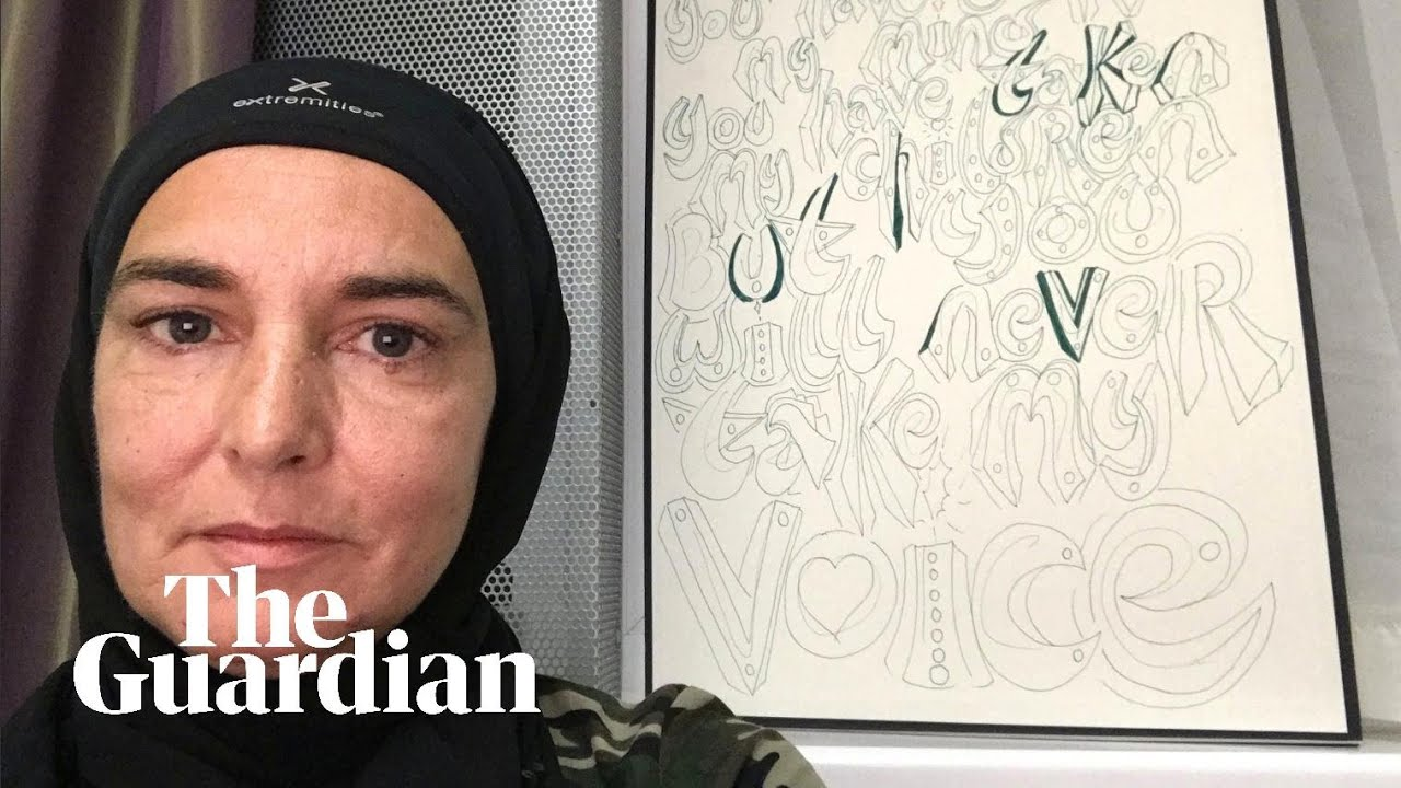 Sinéad O'Connor sings call to prayer after converting to Islam