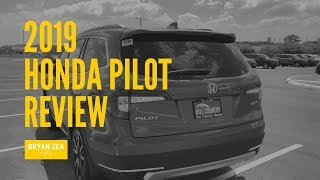 2019 Honda Pilot Tour & Review - Bryan Zea