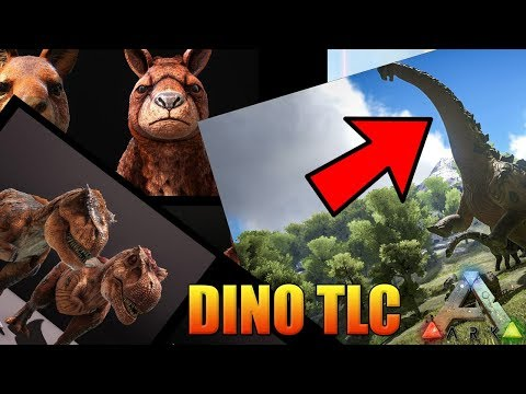 ARK - THE DINO TLC UPDATE! - PERMANENTLY TAME A TITANOSAUR?! NEWS AND OPINIONS!