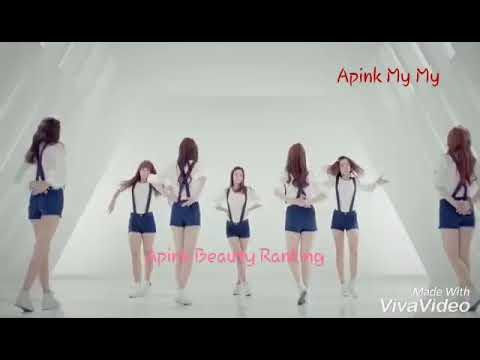 Apink Beauty Ranking in MV MY MY