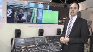 KICK - Automated close ball mixing control by LAWO at IBC 2015
