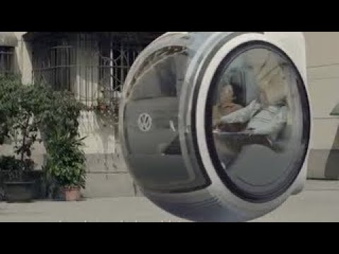 This Volkswagen Hover Car Concept Is Going Viral In China!