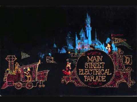 Disneyland music- Main Street Electrical Parade part 1