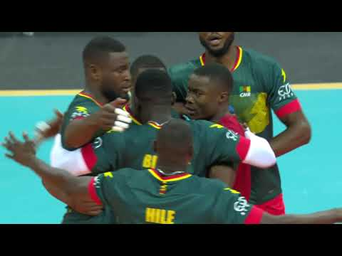 EXTENDED HIGHLIGTS CAMEROUN VS DRC VOLLEY BALL AFRICA CHAMPIONSHIP AT KIGALI ARENA