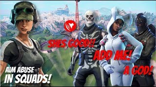 FORTNITE STRIKEPACK AIM ABUSE FPS DOMINATOR THESE SETTINGS...