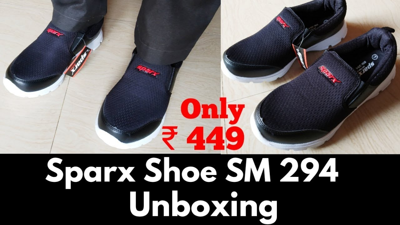 Sparx Shoe SM 294 unboxing purchased