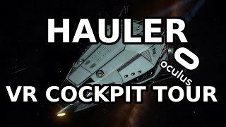 HAULER VR COCKPIT TOUR |ELITE DANGEROUS